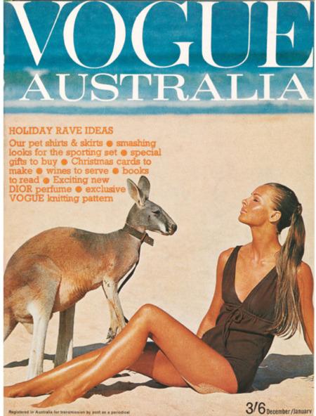 Vogue Australia 1964-65.