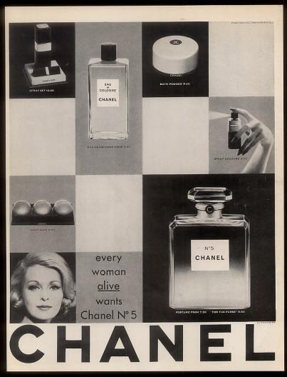 Foto de Chanel No. 5 - publicidad del 30 al 60 (21/61)
