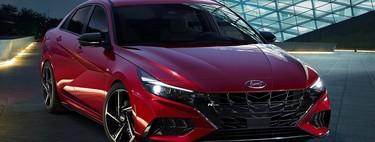 El Hyundai Elantra N-Line: es la variante de colores deportivos con 201 CV y un look difícil de ignorar