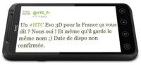 HTC Evo 3D en la cola del embarque rumbo a Europa