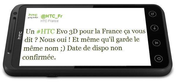 HTC Evo 3D Europa