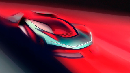 Pininfarina PF0 Concept, teaser