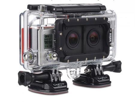GoPro ya tiene un accesorio que nos permite usar dos cámaras GoPro Hero 3+ a la vez