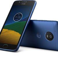 El Moto G5 se deja ver en un nuevo color azul zafiro que debe llegar el 3 de abril