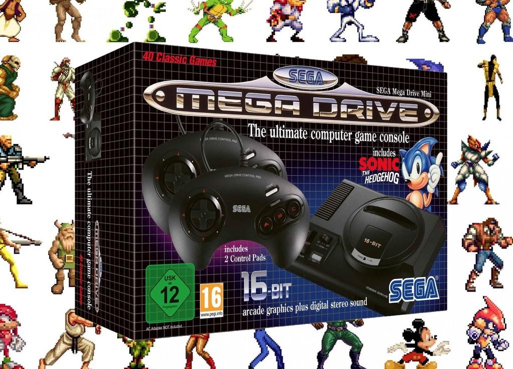SEGA Mega Drive Mini, íntegramente lo que se conoce de la mítica consola retro que volverá este septiembre con 40 juegos clásicos