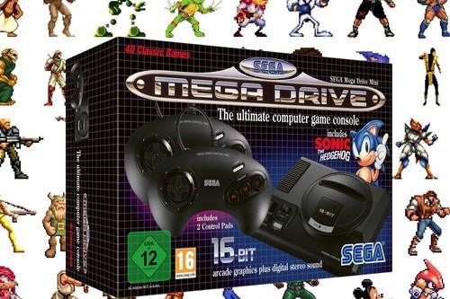 SEGA Mega Drive Mini, todo lo que se sabe de la mítica consola retro que volverá este septiembre con 40 juegos clásicos