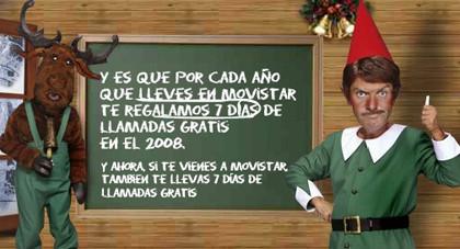 Denuncian por engañosa la promoción navideña de Movistar