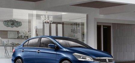 El Suzuki Ciaz 2019 estrena facelift y ahora todos sus motores son mild-hybrid