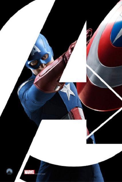 Foto de 'Los vengadores', carteles de los personajes (4/8)