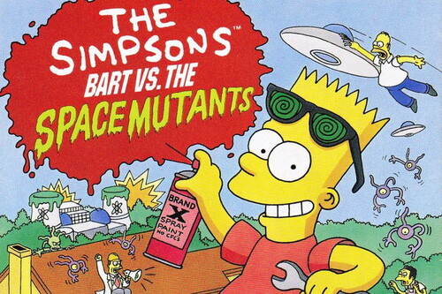 Retroanálisis de The Simpsons: Bart vs. the Space Mutants, los aliens contra el graffitti