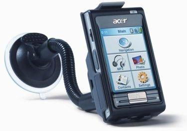 Acer e310, GPS con funciones de reproductor