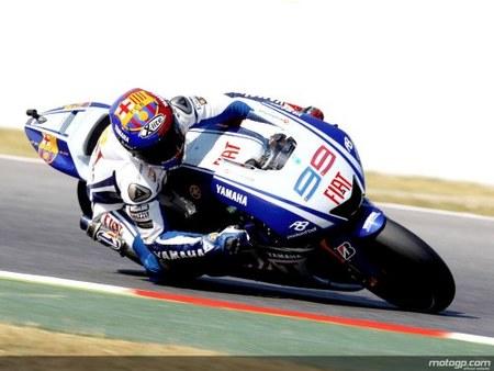 Jorge Lorenzo, pole position ajustadísima