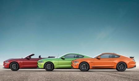 Ford Mustang 2020 se pone vintage estrenando colores oldies