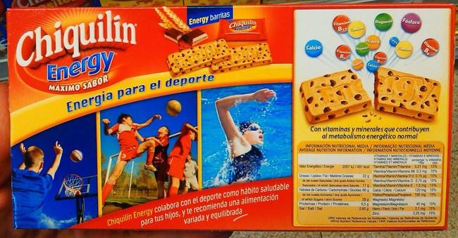 Galletas Chiquilin Para El Deporte