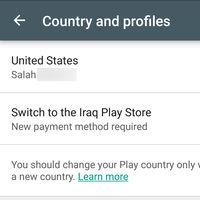 Google Play estrena una nueva opción para cambiar de país fácilmente
