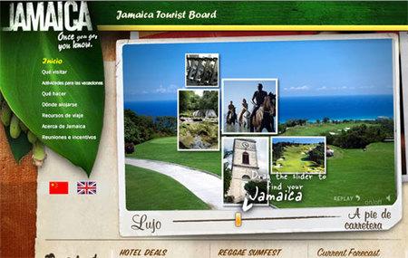 Jamaica estrena su web en español