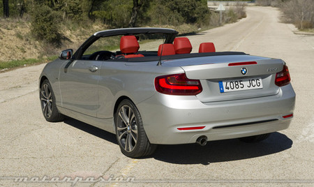 BMW Serie 2 Cabrio, toma de contacto