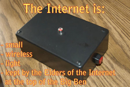 Internet is a series of blogs (XXI)