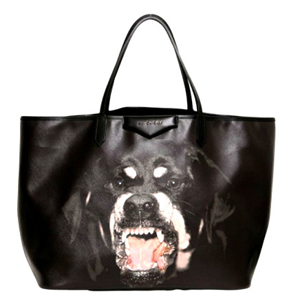 Rottweiler Givenchy bolso