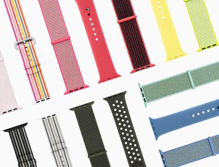 Apple pone a la venta las nuevas correas primavera / verano para el Apple Watch