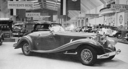 Mercedes-Benz 500K Speziale Roadster chasis 105380
