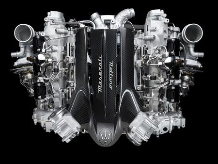 Maserati motor mc20 nettuno