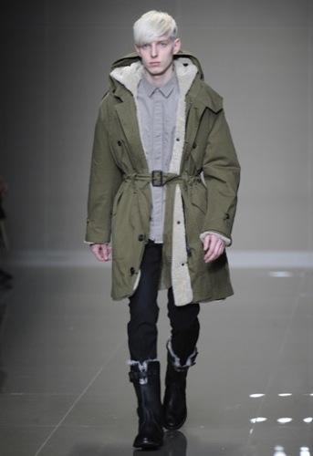 Burberry Prorsum, Otoño-Invierno 2010/2011 en la Semana de la Moda de Milán, parka