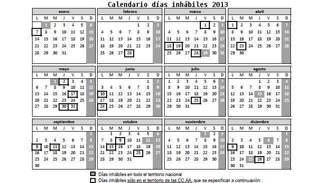 Calendario 2020 Mexico Con Dias Festivos Para Imprimir.Disponible El Calendario Laboral De Los Dias Inhabiles De La