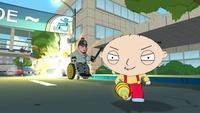 Toma galería de imágenes de 'Family Guy: Back to the Multiverse', el juego protagonizado por Brian y Stewie