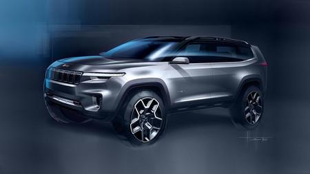 El Jeep Yuntu Concept anticipa un SUV híbrido plug-in, pero sólo para China