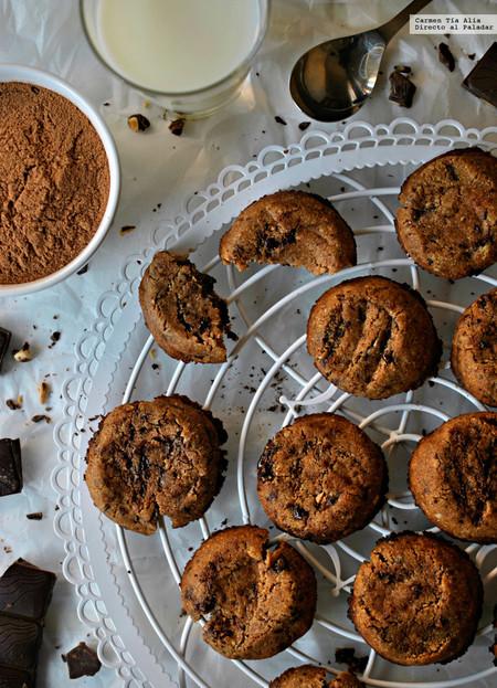 Cookies de chocolate más saludables del mundo