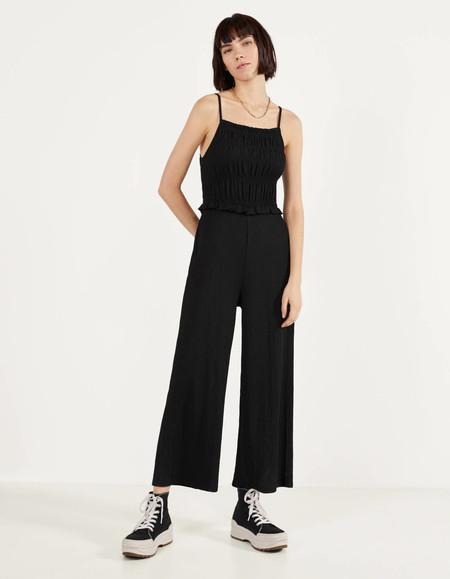 Mono largo estilo camiseta con lazo a la cintura de ASOS DESIGN. 35,99 euros, 17,99 euros.