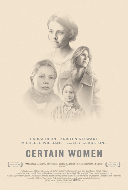 Certain Women Trailer