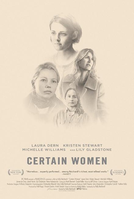 Certain Women Trailer