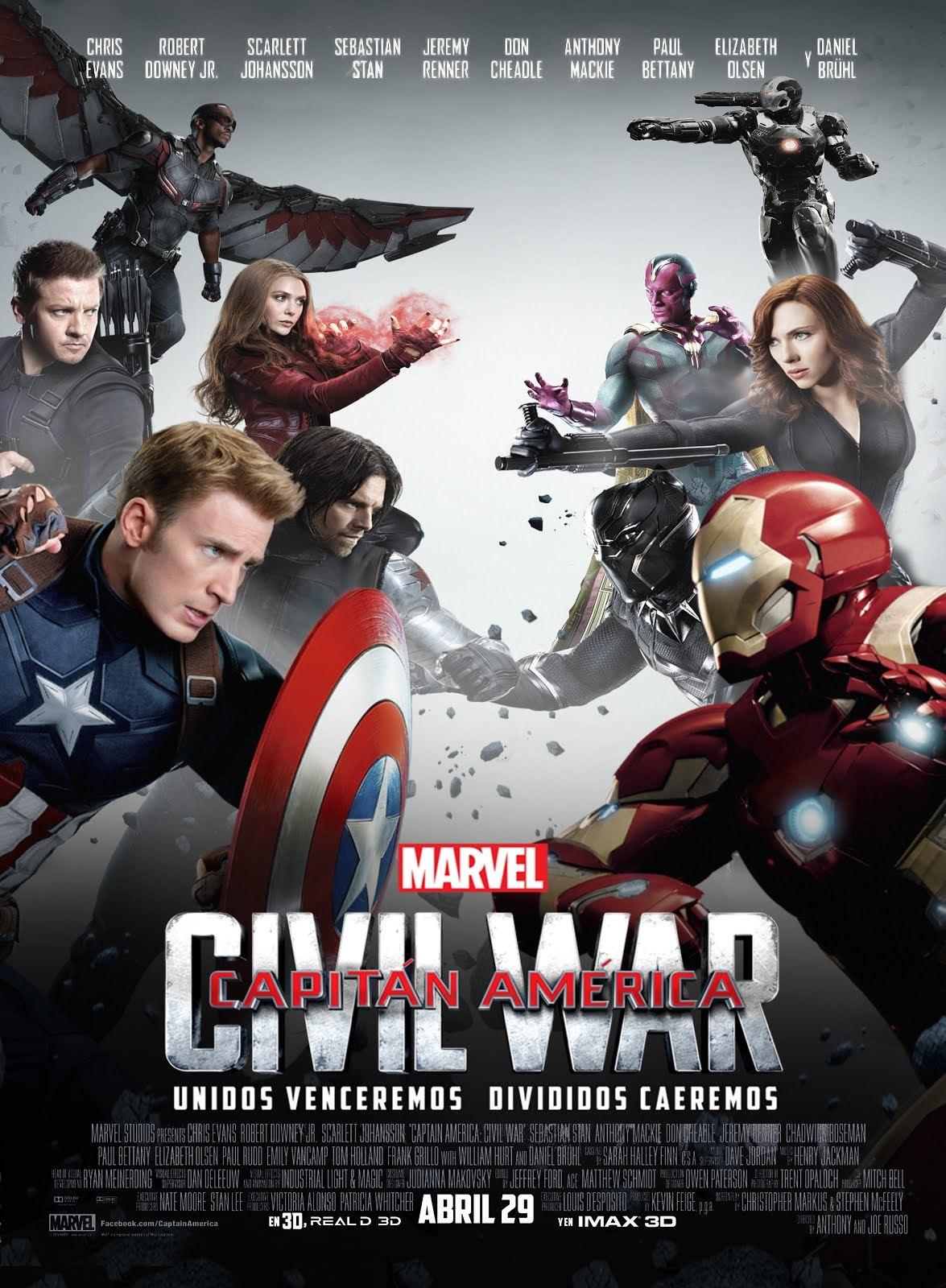 Foto de 'Capitán América: Civil War', los carteles de la película (16/22)