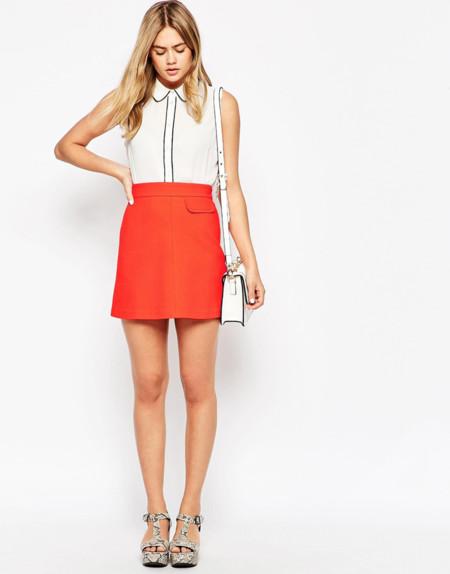 La minifalda sesentera