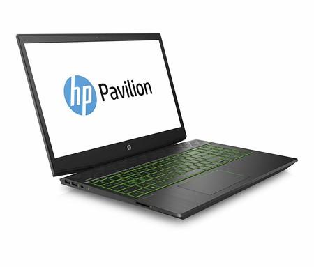 Portátil HP Gaming Pavilion 15, con gráfica Nvidia GeForce GTX 1050 Ti 4GB, por 699 euros en Amazon