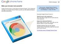 Ya se puede descargar la versión final de Chrome Frame