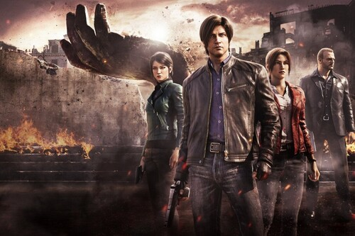 Crítica de Resident Evil: Oscuridad Infinita. Netflix reúne a Leon y Claire en la pequeña pantalla sin la esencia del cine de terror presente en los juegos