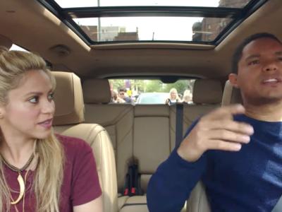 Shakira hace su aparición en Carpool Karaoke ¡desde Barcelona!