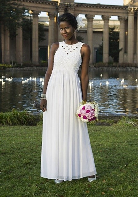 Cinco vestidos de novia a precios mini