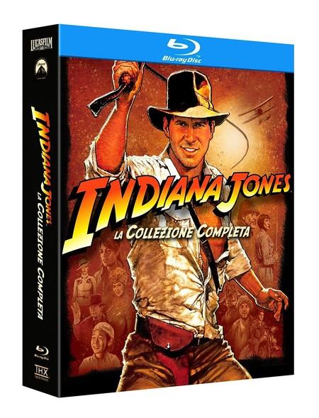 Colección completa Indiana Jones, en Blu-ray, por 15,41 euros