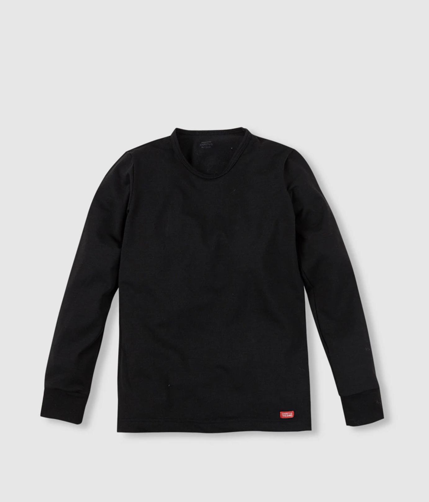 Camiseta infantil Impetus en negro térmica