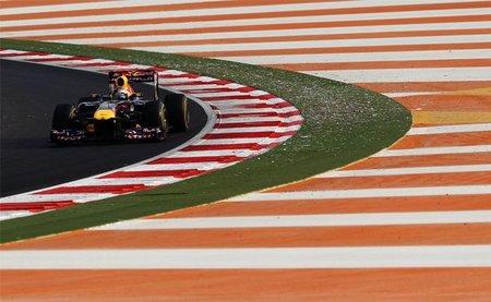 GP de India F1 2011: Sebastian Vettel ya está en primera posición