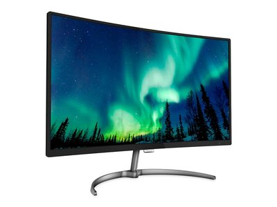 """Philips 328E8QJAB5/00, un monitor Full HD curvo de 32"""", por 134 euros menos esta mañana, en Mediamarkt"""