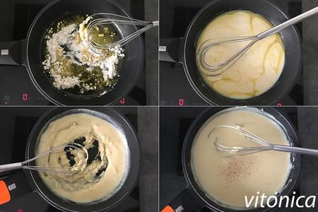 Bechamel Vegana Pasos