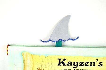 Manualidades Faciles Bonitas Playa Mar Marcapaginas Tiburon