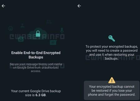 WhatsApp ya trabaja para cifrar las copias de seguridad en el teléfono