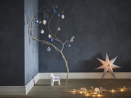 Decoración de Navidad con luz Ikea