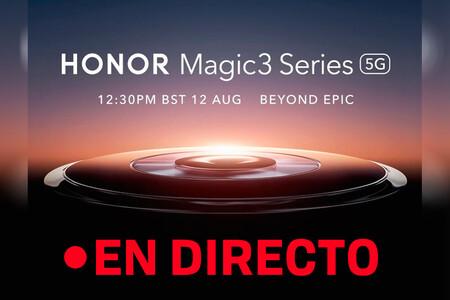 Honor Magic 3: sigue en directo y en vídeo la presentación de hoy con nosotros [Finalizado]